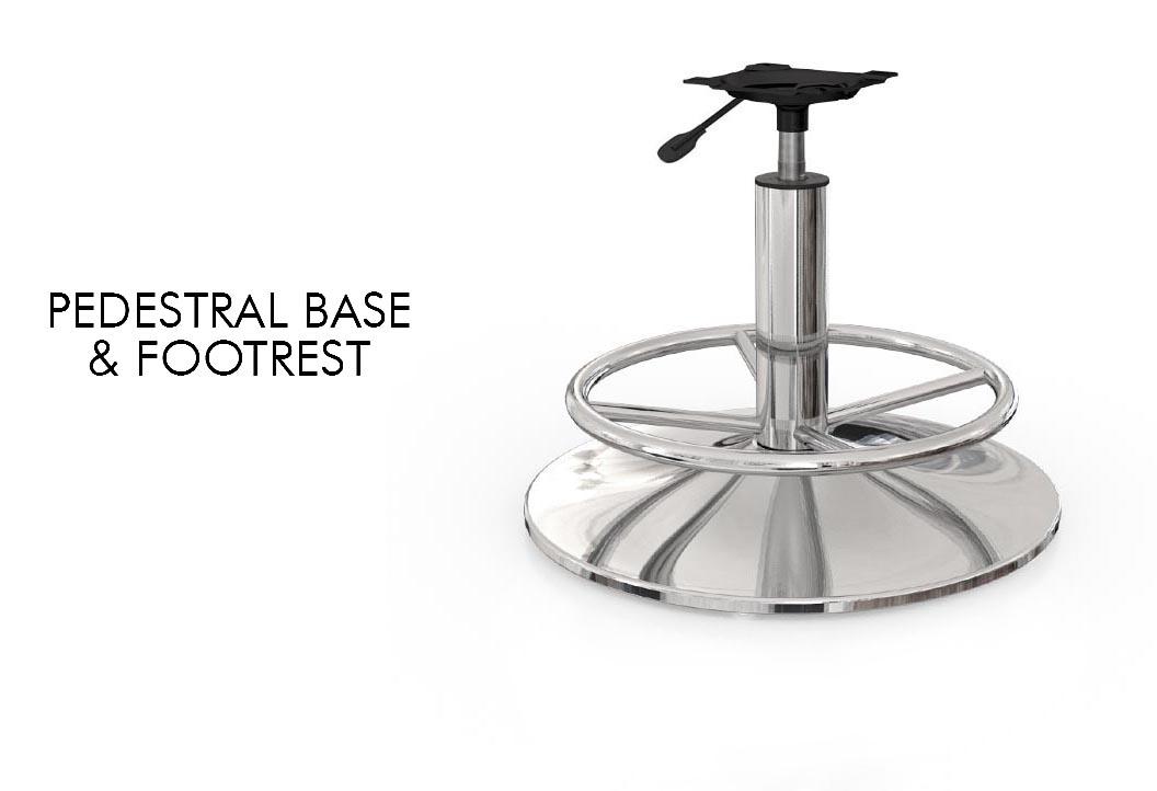 Pedestral Base & footrest