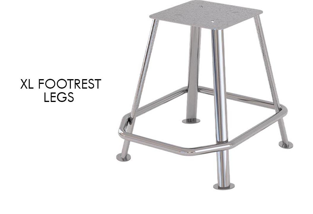 xl footrest legs
