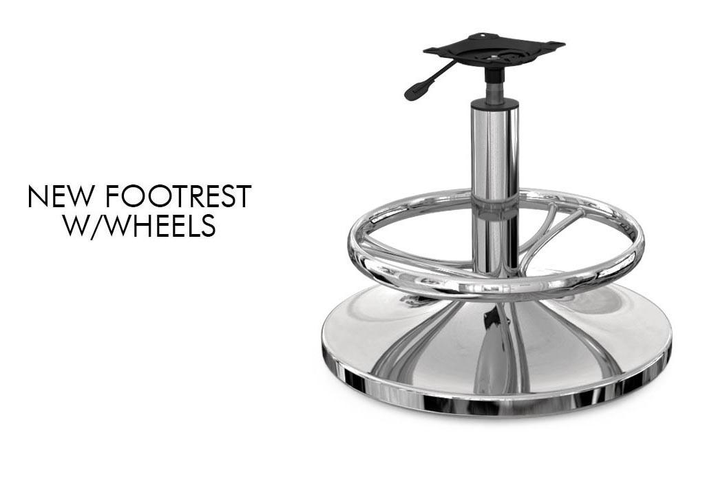 New footrest w/wheels